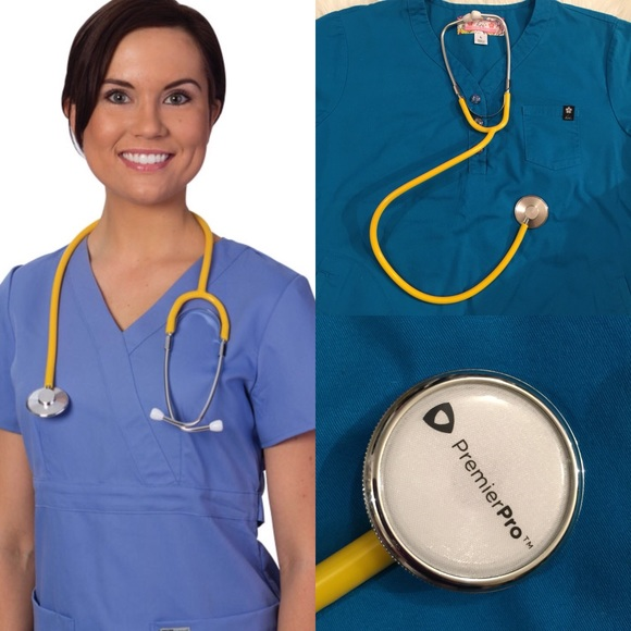 New! Popping Yellow Premiere Stethoscope!